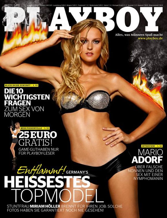 Germany`s Next Topmodel: Miriam Höller im Playboy | Promis